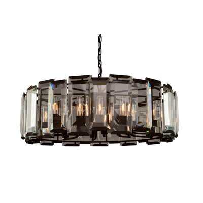 Palisades 12-Light Crystal Chandelier