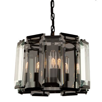 Palisades 3-Light Drum Pendant