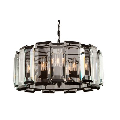 Palisades 9-Light Crystal Chandelier