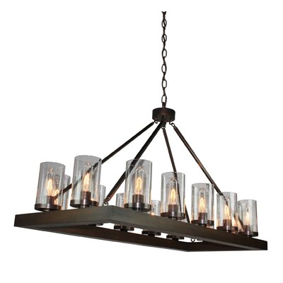 Akilah 14-Light Kitchen Island Pendant
