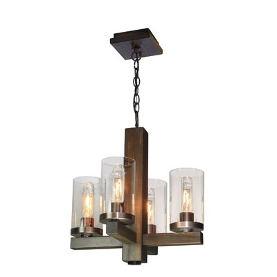 Akilah 4-Light Candle-Style Chandelier
