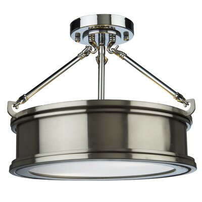 Dunsmore 2-Light Semi Flush Mount