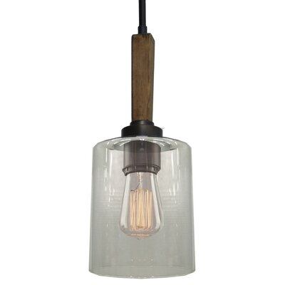 Legno Rustico 1-Light Mini Pendant Finish: Brunito