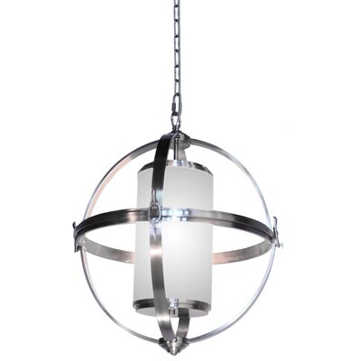 Thornley 4-Light Globe Pendant Size: 25.5 H x 25 W x 25 D