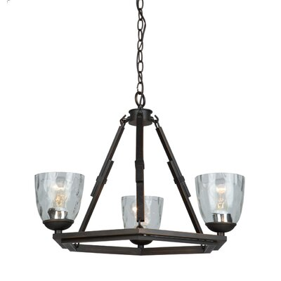 Kent 3-Light Candle-Style Chandelier