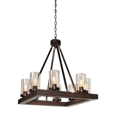 Akilah 8-Light Candle-Style Chandelier