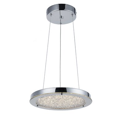 Zakiyya 1-Light Mini Pendant Size: 2.25 H x 12.25 W x 12.25 D