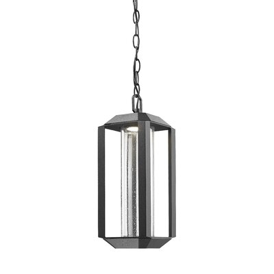 Spiro 1-Light Pendant Finish: Black