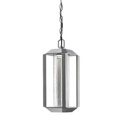 Spiro 1-Light Pendant Finish: Slate