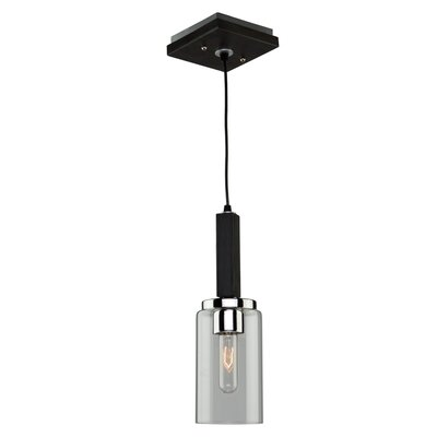 Canyon Creek 1-Light Mini Pendant Finish: Dark Brown