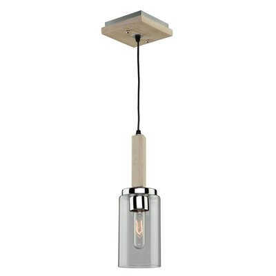 Canyon Creek 1-Light Mini Pendant Finish: Natural Organic Wood