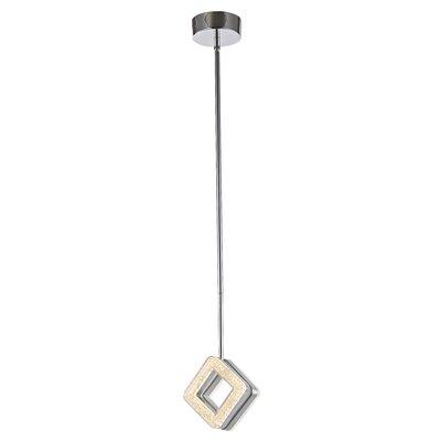 Osmond 1-Light Mini Pendant Size: 6 H x 3 W x 3 D