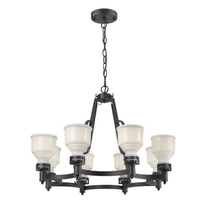 Melynnie 8-Light Shaded Chandelier