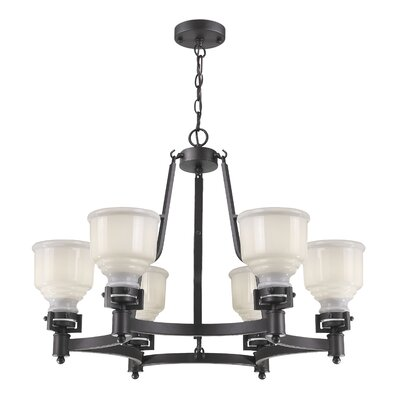 Franklin 6-Light Shaded Chandelier