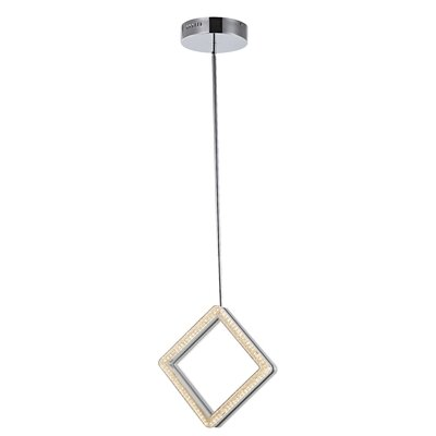 Osmond 1-Light Mini Pendant Size: 13 H x 3 W x 3 D