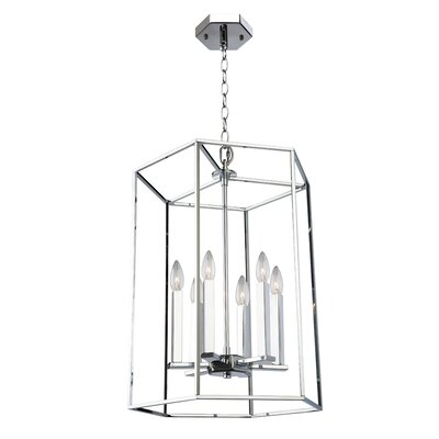 Gayatri 6-Light Foyer Pendant Size: Large