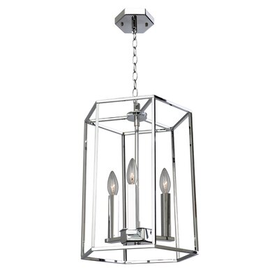 Gayatri 3-Light Foyer Pendant