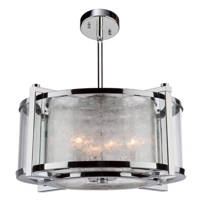 Crotts 5-Light Semi Flush Mount