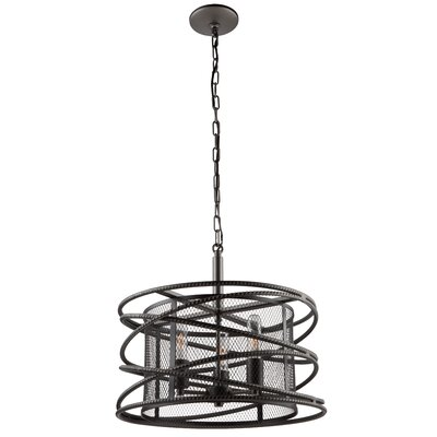 Rebar Studio 3-Light Foyer Pendant