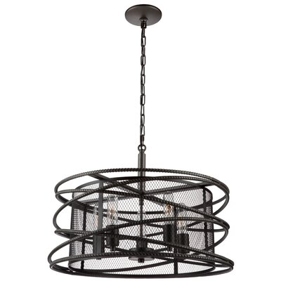Rebar Studio 5-Light Foyer Pendant