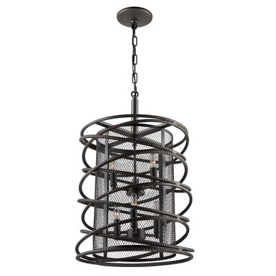 Rebar Studio 6-Light Foyer Pendant