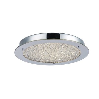 Stardust 1-Light Flush Mount Size: 2.25 H x 12.25 W x 12.25 D