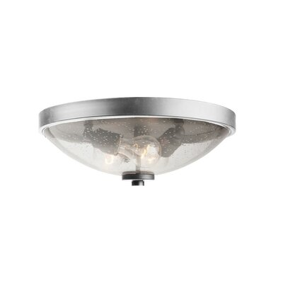 Nelly 3-Light Flush Mount Finish: Brushed Nickel