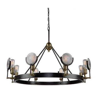 Rishi 8-Light Candle-Style Chandelier