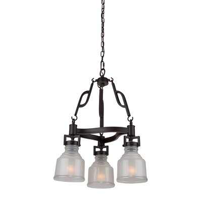 Franklin 3-Light Shaded Chandelier