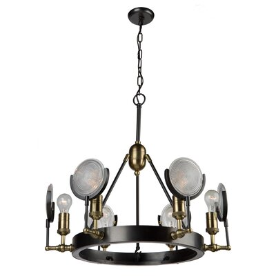 Rishi 6-Light Candle-Style Chandelier