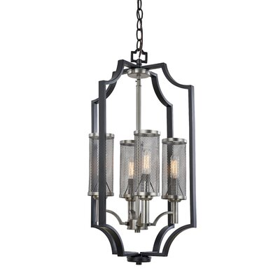 Oxford 4-Light Foyer Pendant