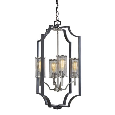Quandra 4-Light Chandelier
