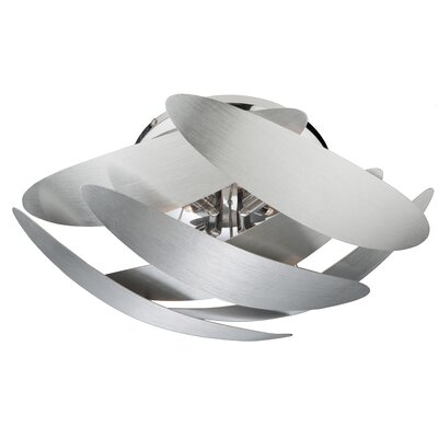 Harshil 4-Light Flush Mount