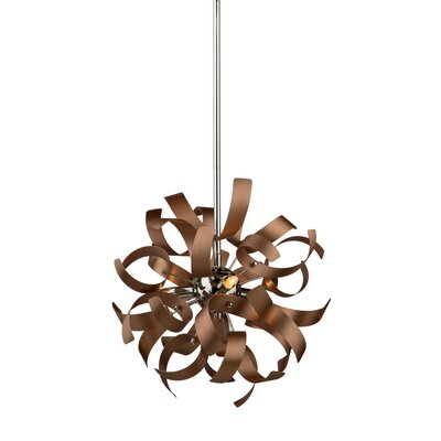 Weyand 3-Light Mini Pendant Finish: Copper