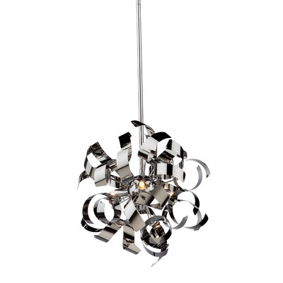 Belair 3-Light Mini Pendant Finish: Chrome