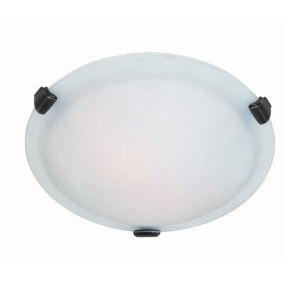 "Artcraft Lighting Clip Flush Mount - Size: 4.5"" H x 12"" W x 12"" D, Finish: Brunito TM at Sears.com"