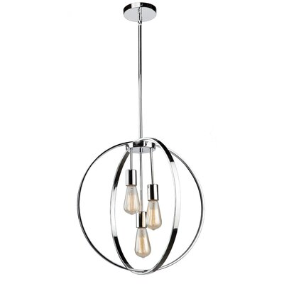 Thorsen 3-Light Globe Pendant