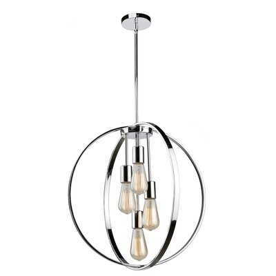 Thorsen 4-Light Globe Pendant Finish: Oil Rubbed Bronze