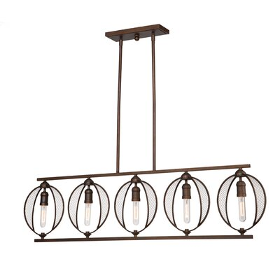 LaKeshia 5-Light Kitchen Island Pendant