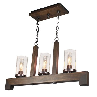 Akilah 3-Light Kitchen Island Pendant
