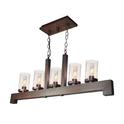 Akilah 5-Light Kitchen Island Pendant