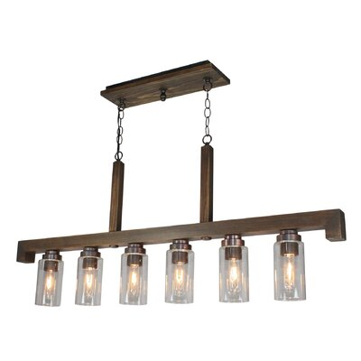 Jasper Park 6-Light Kitchen Island Pendant