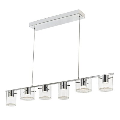 Dini 6-Light Kitchen Island Pendant