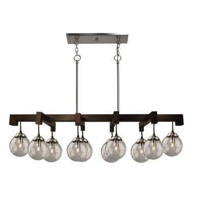 10-Light Kitchen Island Pendant