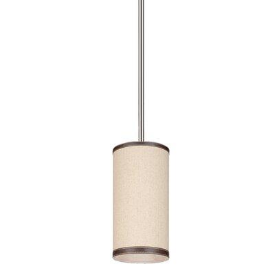 Strathmore 1-Light Mini Pendant Finish: Oatmeal