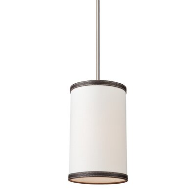 Strathmore 1-Light Mini Pendant Finish: White