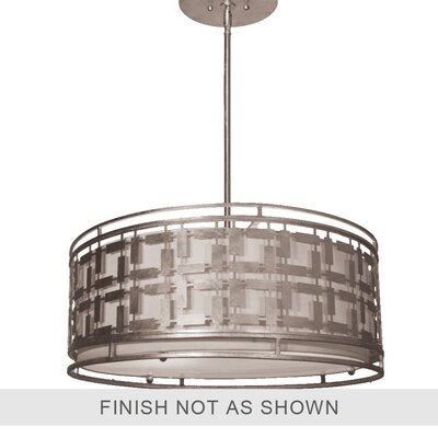 Morehead 4-Light Drum Pendant