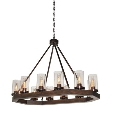 Akilah 12-Light Kitchen Island Pendant