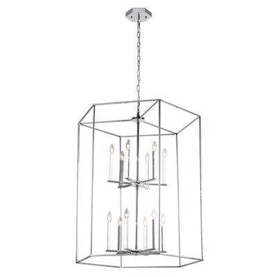 Gayatri 12-Light Foyer Pendant