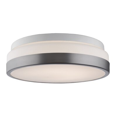 Spinks LED 1-Light Flush Mount